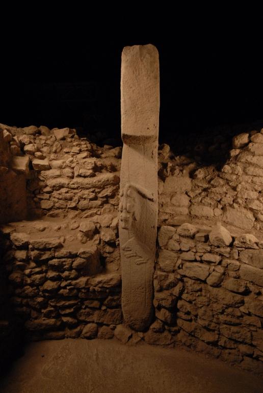 Pillar 27 in Enclosure C (Photo D. Johannes, copyright DAI).