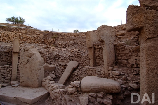 View into Göbekli Tepe's Enclosure C. (Photo: German Archaeological Institute, Nico Becker)