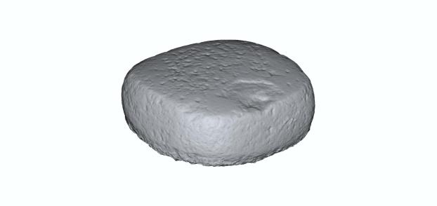 4: Handstone in 3D (model H. Höhler-Brockmann, copyright DAI).